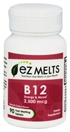 EZ Melts - Vitamin B12 Natural Cherry Flavor 2500 mcg. - 90 Tablets