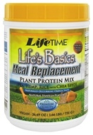 LifeTime Vitamins - Life's Basics Meal Replacement Plant Protein Mix Natural Vanilla - 26.49 oz.