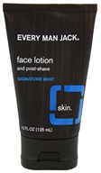 Every Man Jack - Face Lotion and Post-Shave Signature Mint - 4.2 oz.