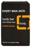 Every Man Jack - Body Bar Citrus Scrub - 7 oz.