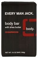 Every Man Jack - Body Bar Cedarwood - 7 oz.