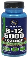 Natural Sport - B12 5000 Lozenge Mixed Berry Flavor - 90 Lozenges