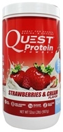 Quest Nutrition - Protein Powder Strawberries & Cream - 2 lbs.