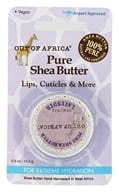 Out Of Africa - Pure Shea Butter for Lips, Cuticles & More with Vitamin E, for Extreme Hydration Lavender - 0.5 oz.