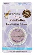 Out Of Africa - Travel Pure Shea Butter for Lips & Cuticles with Vitamin E Lavender - 0.5 oz.