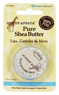 Out Of Africa - Pure Shea Butter for Lips, Cuticles & More with Vitamin E, for Extreme Hydration Vanilla - 0.5 oz.