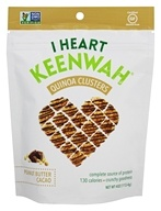 I Heart Keenwah - Quinoa Clusters Peanut Butter Cacao - 4 oz.