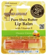 Out Of Africa - 100% Pure Shea Butter Lip Balm Orange Cream - 0.25 oz.