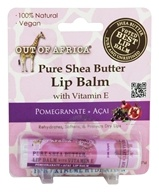 Out Of Africa - 100% Pure Shea Butter Lip Balm Pomegranate + Acai - 0.25 oz.