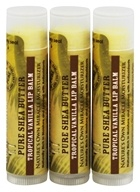Out Of Africa - 100% Pure Shea Butter Lip Balm Tropical Vanilla - 3 Pack