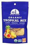 Mavuno Harvest - Organic Tropical Mix Mango Pineapple Banana - 2 oz.