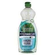 Natural Dish Liquid Ultra Power Plus Fresh Citrus Scent - 22 fl. oz. by Seventh Generation