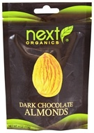 Next Organics - Dark Chocolate Almonds - 4 oz.