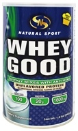 Natural Sport - Whey Good Protein Unflavored - 1.9 lbs.