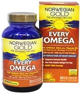 ReNew Life - Norwegian Gold Every Omega Natural Orange - 30 Softgels