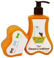 Organic Oscar - 2 in 1 Shampoo & Conditioner - 8 oz.