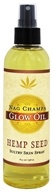 Earthly Body - Hemp Seed Glow Oil Nag Champa - 8 oz.