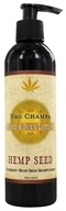 Earthly Body - Hemp Seed Hand & Body Lotion Nag Champa - 8 oz.