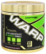 Adaptogen Science - Warp 5 Ultra Concentrated Pre-Workout Formula Pink Lemonade Blast 30 Servings - 240 Grams
