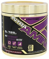 Adaptogen Science - Intra Amino Max Performance & Recovery Matrix Xtreme Fruit Punch 30 Servings - 315 Grams