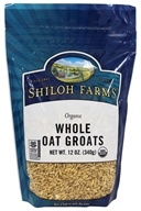 Shiloh Farms - Organic Whole Oat Groats - 12 oz.