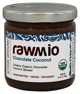 Rawmio - Organic Chocolate Coconut Stone Ground - 6 oz.