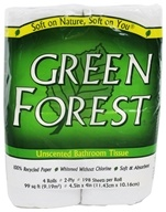 Green Forest - Bathroom Tissue 100% Recycled 2-Ply 198 Sheets - 4 Roll(s)