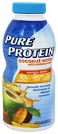 Pure Protein - Coconut Water Tropical Mango - 12 oz.