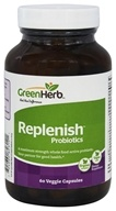 Green Herb - Replenish Probiotics - 60 Vegetarian Capsules