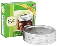 Ball - Regular Mouth Mason Jar Lids - 12 Pack