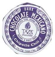 Taza Chocolate - Mexicano Disc 70% Dark Mexican-Style Stone Ground Chocolate Chipotle Chili - 2 Disc(s)