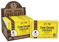 Taza Chocolate - 60% Dark Stone Ground Organic Chocolate Bar - 3 oz.