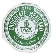 Taza Chocolate - Mexicano Disc 50% Dark Mexican-Style Stone Ground Chocolate Guajillo Chili - 2 Disc(s)