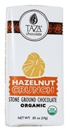 Taza Chocolate - Tazitos Minibar 65% Dark Stone Ground Organic Chocolate Hazelnut Crunch - 0.85 oz.