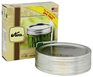 Kerr - Wide Mouth Mason Jar Lids - 12 Pack