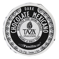 Taza Chocolate - Mexicano Disc 50% Dark Mexican-Style Stone Ground Chocolate Vanilla Bean - 2 Disc(s)