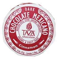 Taza Chocolate - Mexicano Disc 50% Dark Mexican-Style Stone Ground Chocolate Cinnamon - 2 Disc(s)