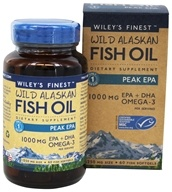 Wiley's Finest - Wild Alaskan Fish Oil Peak EPA 1250 mg. - 60 Softgels