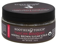 Soothing Touch - Organic Herbal Brown Sugar Scrub Rest & Relax Tuscan Bouquet - 8 oz.