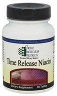 Ortho Molecular Products - Time Release Niacin 500 mg. - 90 Tablets