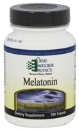 Ortho Molecular Products - Melatonin - 100 Tablets