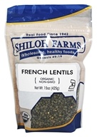Shiloh Farms - Organic French Lentils - 15 once.