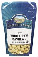 Shiloh Farms - Organic Whole Raw Cashews - 11 oz.