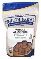 Shiloh Farms - Organic Raw Whole Almonds - 11 once.