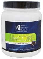 Ortho Molecular Products - LifeCORE Rich Dark Chocolate - 25.8 oz.