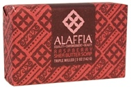 Alaffia - Classic Triple Milled Shea Butter Soap Raspberry - 5 oz.
