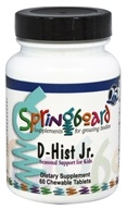 Ortho Molecular Products - D-Hist Jr. - 60 Chewable Tablets
