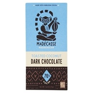 Dark Chocolate Bar Toasted Coconut 70% Cocoa - 2.64 oz. by Madecasse