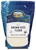 Shiloh Farms - Organic Brown Rice Flour - 24 oz.