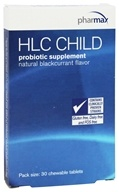 Pharmax - HLC Child Natural Blackcurrant Flavor - 30 Chewable Tablets